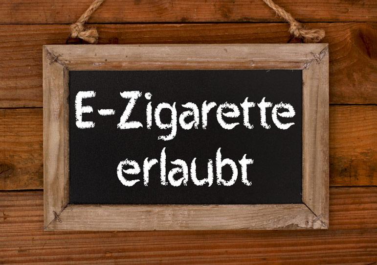 E Zigarette bei Rauchverbot