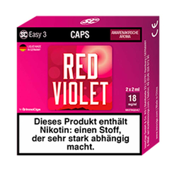 SC - Easy 3 Caps - Red Violet Amarenakirsche (2 Stück)