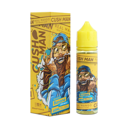 (EX) Nasty Juice Cush Man - Mango Banana 50ml 0mg