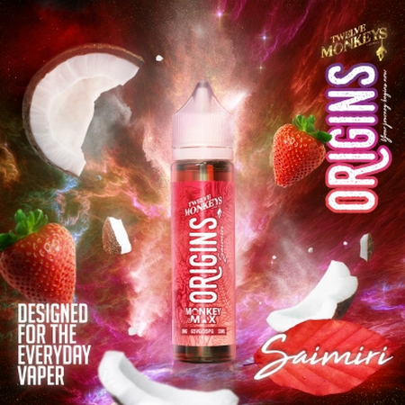(EX) Twelve Monkeys Origins - Saimiri 50ml 0mg