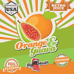 Retro Juice Aroma - Orange & Guava - 30ml