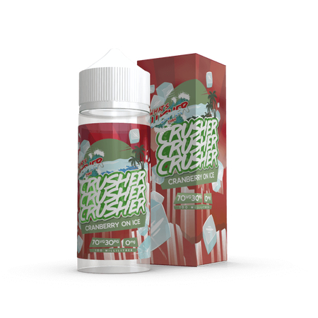 Crusher E-Liquid - Cranberry on Ice 0mg 100ml