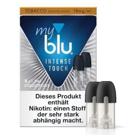 myblu - Intense Touch Roasted Blend 18mg/ml