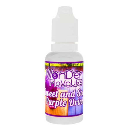 (EX) Wonder Flavours - Sweet and Sour Purple Drink - 30ml