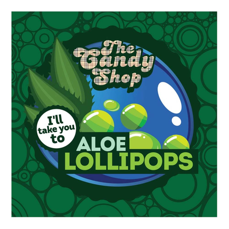 (EX) The Candy Shop Aroma - Aloe Lollipops - 30ml