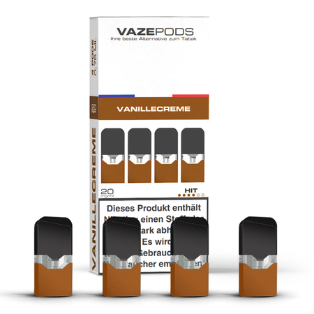 VAZE - Pods Royal Creme 4er Pack (Vanilla Custard)