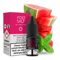Pod Salt - Watermelon Breeze Nikotinsalz Liquid 10ml - 11mg Bewertung