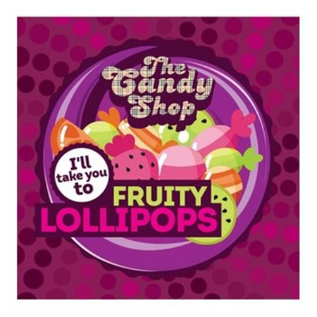 The Candy Shop Aroma - Fruity Lollipops - 30ml