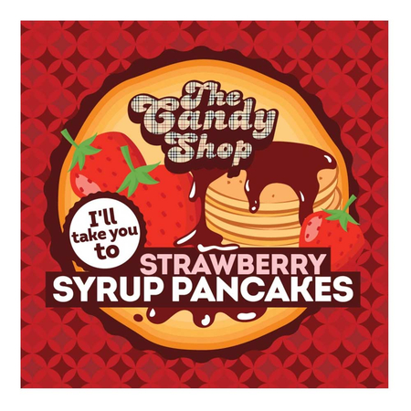 (EX) The Candy Shop Aroma - Strawberry Syrup Pancakes - 30ml