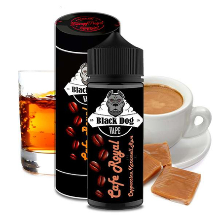 Black Dog Vape - Cafe Royal Aroma