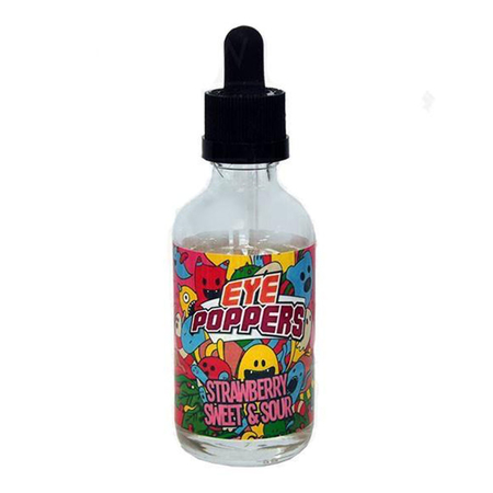 Eye Poppers - Sweet & Sour Strawberry Short Fill - 50ml (0mg)