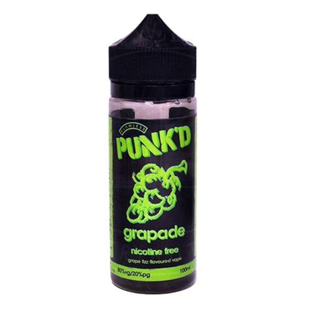 (EX) Punkd - Grapade Short Fill - 100ml (0mg)