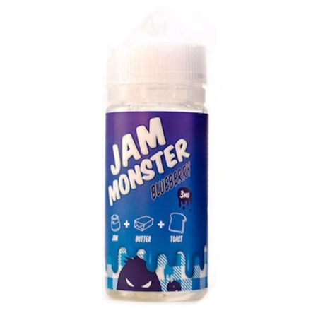 (EX) Jam Monster - Blueberry Short Fill - 100ml (0mg)