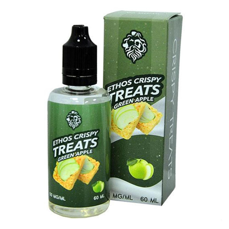Ethos - Apple Crispy Treats Shortfill - 50ml (0mg)