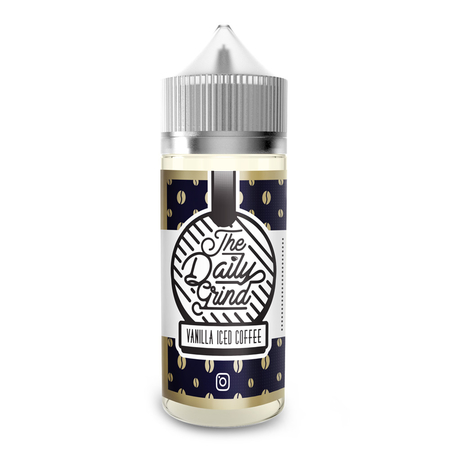 The Daily Grind - Vanilla iced Coffee Shortfill - 100ml (0mg)