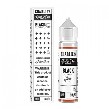 Charlies Chalk Dust - Black Ice 50ml - Shortfill