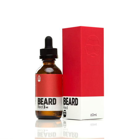 (EX) Beard Vape - X Series - Red - Liquid 50ml 0mg