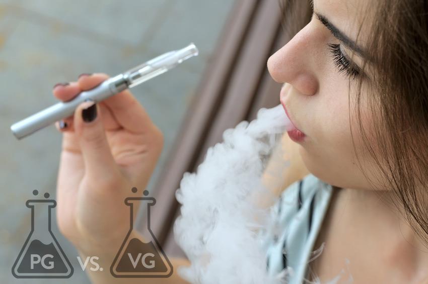 E-Zigarette PG VG
