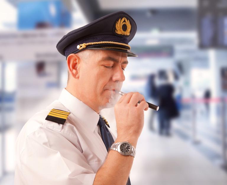E-Zigarette im Urlaub